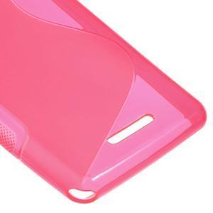 S-line gelový obal na Sony Xperia E3 - rose - 5