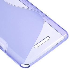S-line gelový obal na Sony Xperia E3 - fialový - 5