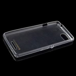 Ultratenký obal na mobil Sony Xperia E3 - transparentní - 5