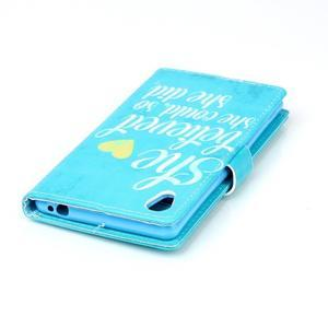 Emotive pouzdro na mobil Sony Xperia M4 Aqua - citát II - 5