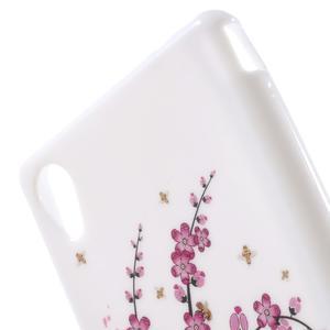 Emotive gelový obal na Sony Xperia M4 Aqua - kvetoucí větvička - 5
