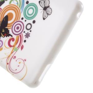 Emotive gelový obal na Sony Xperia M4 Aqua - motýlci - 5