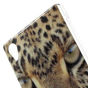 Emotive gelový obal na Sony Xperia M4 Aqua - leopard - 5