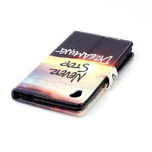 Emotive pouzdro na mobil Sony Xperia M4 Aqua - nepřestávej snít - 5