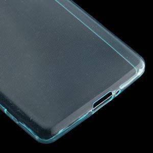 Ultratenký 0.5 mm gelový obal na Sony Xperia X - světlemodrý - 5
