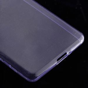 Ultratenký 0.5 mm gelový obal na Sony Xperia X - fialový - 5