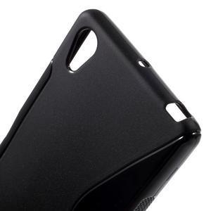 S-line gelový obal na Sony Xperia X - černý - 5