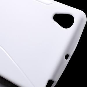 S-line gelový obal na Sony Xperia X - bílý - 5