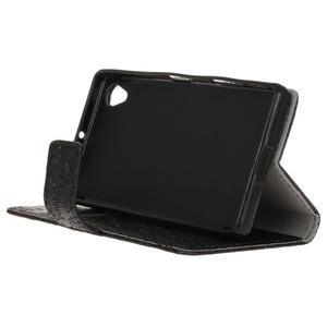 Cartoo peněženkové pouzdro na Sony Xperia X - černé - 5