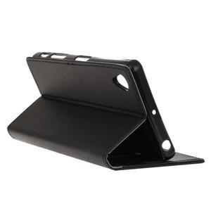 Grain koženkové pouzdro na Sony Xperia X - černé - 5