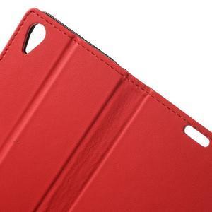 Pouzdro na mobil Sony Xperia X Performance - červené - 5