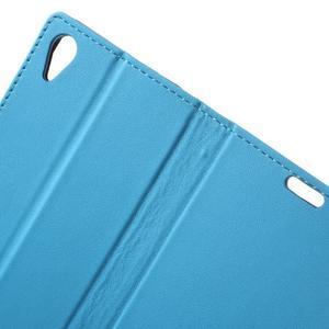 Pouzdro na mobil Sony Xperia X Performance - modré - 5