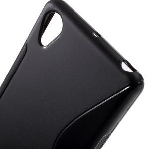 S-line gelový obal na mobil Sony Xperia X Performance - černý - 5