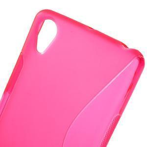 S-line gelový obal na mobil Sony Xperia X Performance - rose - 5