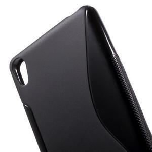 S-line gelový obal na mobil Sony Xperia XA - černý - 5