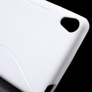 S-line gelový obal na mobil Sony Xperia XA - bílý - 5