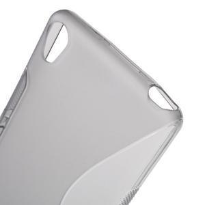 S-line gelový obal na mobil Sony Xperia XA - šedý - 5