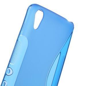 S-line gelový obal na mobil Sony Xperia XA - modrý - 5