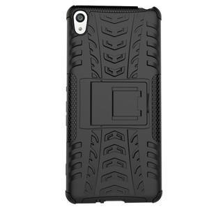 Outdoor odolný obal na mobil Sony Xperia XA - černý - 5