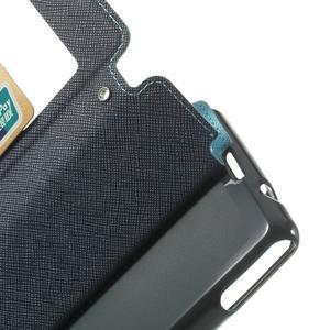 Okýnkové pouzdro na mobil Sony Xperia Z1 Compact - světlemodré - 5