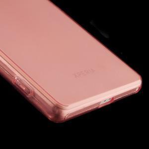 Ultratenký slim gelový obal na mobil Sony Xperia Z2 - červený - 5