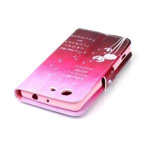 Emotive knížkové pouzdro na Sony Xperia Z3 Compact - pampelišky - 5