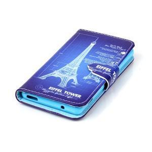 Emotive knížkové pouzdro na Sony Xperia Z3 Compact - Eiffelova věž - 5