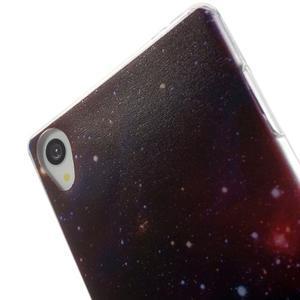 Ultratenký gelový obal na mobil Sony Xperia Z3 - galaxie - 5