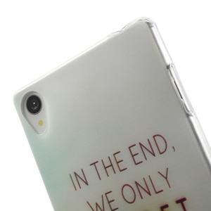 Ultratenký gelový obal na mobil Sony Xperia Z3 - regret - 5