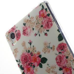 Gelový obal na mobil Sony Xperia Z3 - květiny - 5