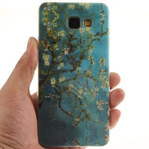 Silk gelový kryt na mobil Samsung Galaxy A3 (2016) - rozkvetlý strom - 5