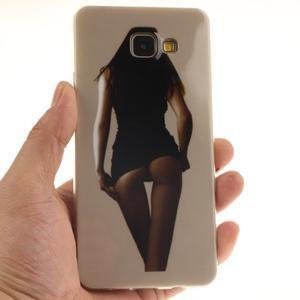 Silk gelový kryt na mobil Samsung Galaxy A3 (2016) - sexy girl - 5