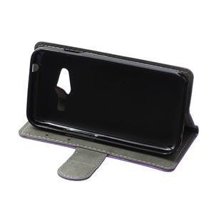 Wall peněženkové pouzdro na Samsung Galaxy Trend 2 Lite - fialové - 5