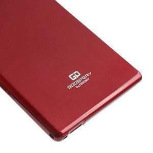 JellyGospery gelový obal na mobil Sony Xperia Z Ultra - vínový - 5
