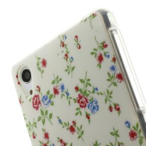 Emotive gelový obal na Sony Xperia Z2 - květiny - 5