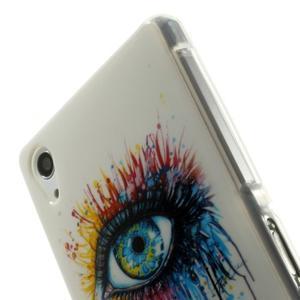 Emotive gelový obal na Sony Xperia Z2 - barevné oko - 5