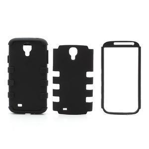 Extreme odolný gelový obal 2v1 na Samsung Galaxy S4 - černý - 5