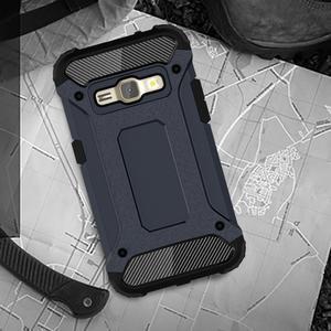 Armory odolný obal na mobil Samsung Galaxy J1 (2016) - tmavěmodrý - 5