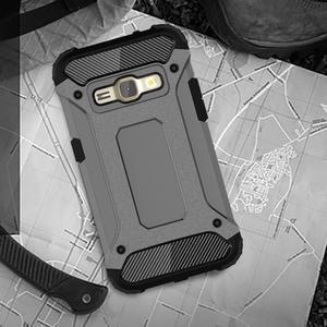 Armory odolný obal na mobil Samsung Galaxy J1 (2016) - šedý - 5