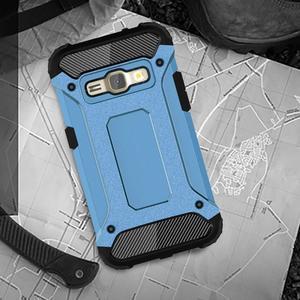 Armory odolný obal na mobil Samsung Galaxy J1 (2016) - modrý - 5
