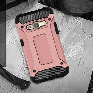 Armory odolný obal na mobil Samsung Galaxy J1 (2016) - růžovozlatý - 5