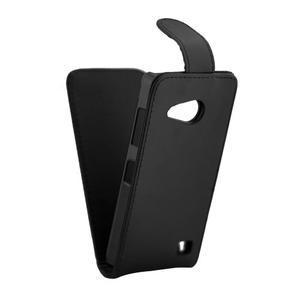 Flipové koženkové pouzdro na Microsoft Lumia 550 - černé - 5