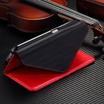 Breck peněženkové pouzdro na Samsung Galaxy S6 - červené/černé - 5/5