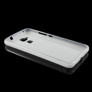Matný gelový obal na mobil Honor 7 Lite - bílý - 5