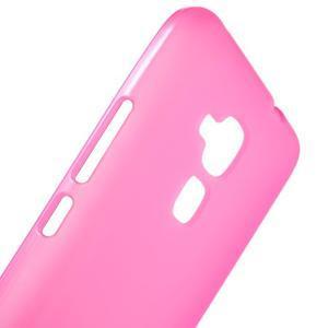 Matný gelový obal na mobil Honor 7 Lite - rose - 5