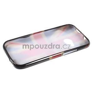 Gelový kryt na HTC One mini 2 - UK vlajka - 5