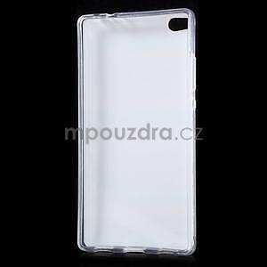 Gelový obal na Huawei Ascend P8 - barevné dřevo - 5