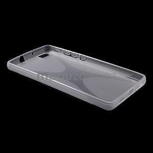 Gelový obal na Huawei Ascend P8 Lite - transparentní - 5
