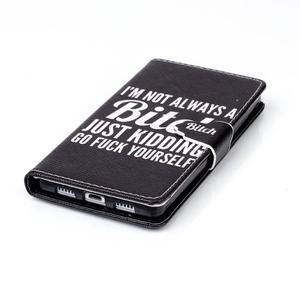 Pouzdro na mobil Huawei P8 Lite - bitch - 5