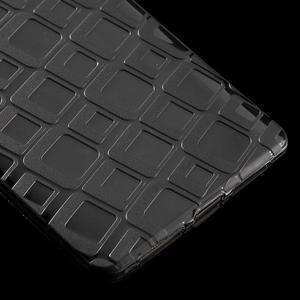 Square gelový obal na Huawei Mate 8 - šedý - 5